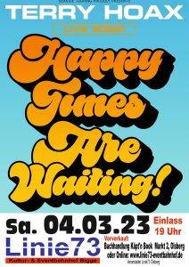 04. März 2022 TERRY HOAX (Neuer Termin !!! )